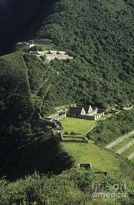 The Lost City Of Choquequirao Art Print