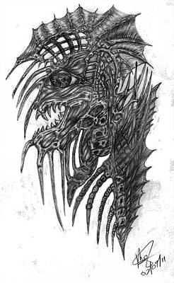 Drawing - The Lost Ones by Mike Sangh