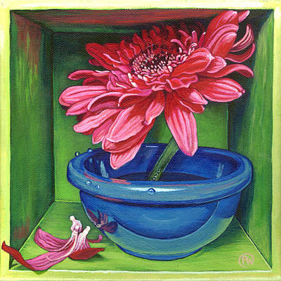 Gerbera Daisy Painting - The Lost Ones by Paige Wallis