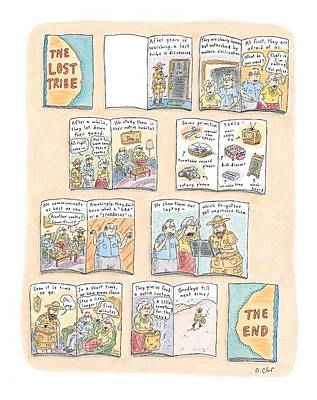 'the Lost Tribe' Art Print by Roz Chast