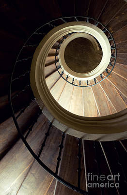 Spiral Staircase Photograph - The Lost Wooden Tower by Jaroslaw Blaminsky