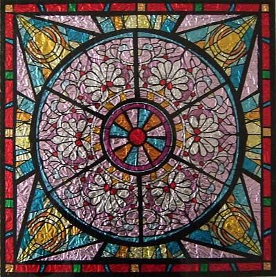 Mixed Media Royalty Free Images - The Lotus Mandala Royalty-Free Image by Kruti Shah