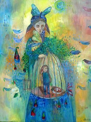 Painting - The Love by Aurelija Kairyte-Smolianskiene
