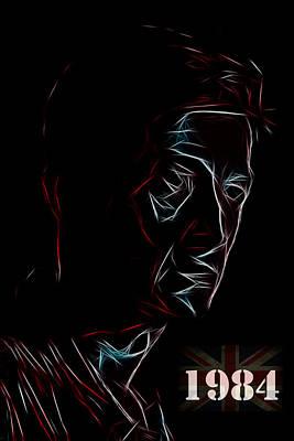 Hurt Digital Art - The Love Of Big Brother by Steve K