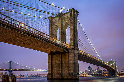 Bridge Photograph - The Love Of Brooklyn  by Anthony Fields