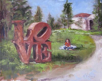 The Love Trail 2 Art Print