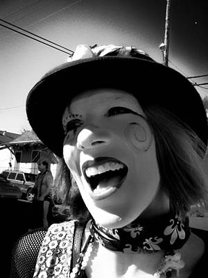 Photograph - The Lovely Elly On Mardi Gras Day 2009 by Louis Maistros