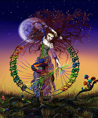 Hindu Goddess Digital Art - The Lover by Kd Neeley
