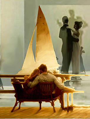 The Lovers Dream By Dominique Amendola Original by Dominique Amendola