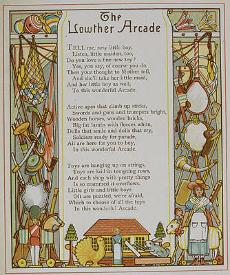 The Lowther Arcade Art Print by British Library