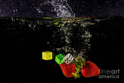 The Lucky 7 Splash Art Print by Rene Triay Photography