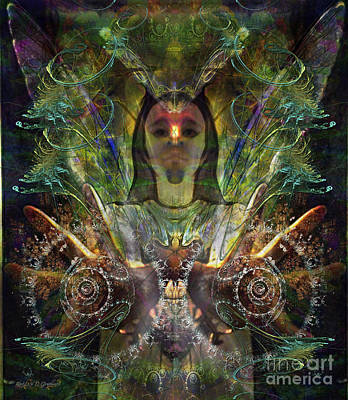 Digital Art - the Luminarian by Rhonda Strickland