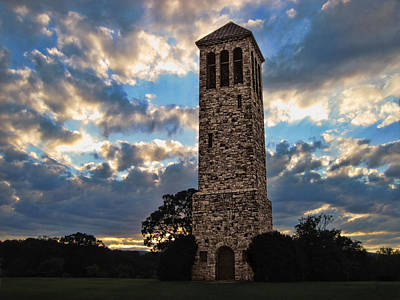 The Luray Singing Tower Art Print by Lara Ellis