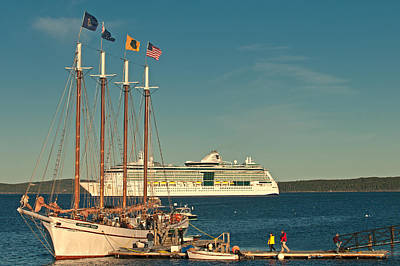 Photograph - The Lure Of Bar Harbor by Paul Mangold