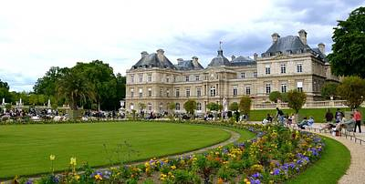 Photograph - The Luxembourg Garden by Corinne Rhode