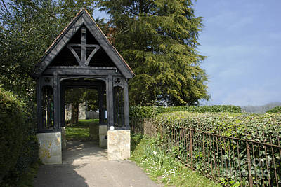 Photograph - The Lych Gate by Doug Wilton