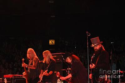 Photograph - The Lynyrd Skynyrd Guitar Army by John Telfer