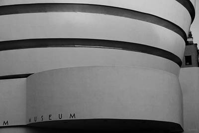 Photograph - The M Museum In Black And White by Rob Hans