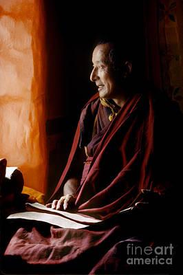 Photograph - The Ma Shee Lama Of Sera Monasterey - Lhasa Tibet by Craig Lovell