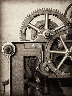 The Machine Art Print by Martin Bergsma