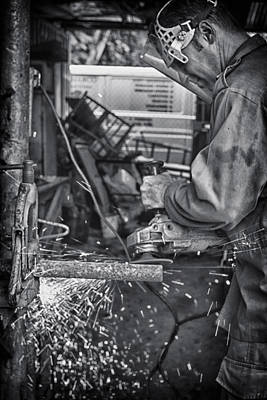 Photograph - The Machinist by Gigi Ebert