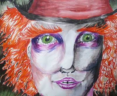 The Mad Hatter Art Print by Isobelle Rothery-Smith