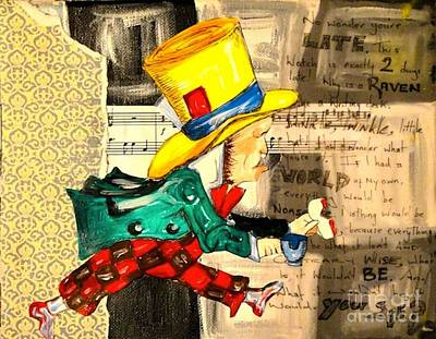The Mad Hatter Art Print by Sabrina Phillips