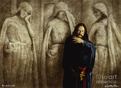 Russia Painting - The Mad Monk... by Will Bullas