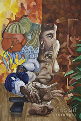 Painting - The Mad Sculptor by James Lavott