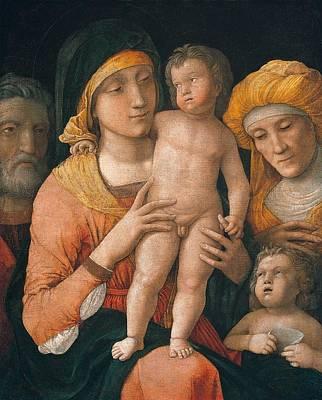 The Madonna And Child Art Print