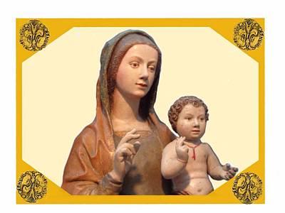 The Madonna Delle Grazie  Art Print by Nikki Keep
