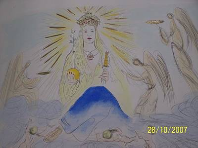 Limited Edition Mixed Media - The Madonna by Salvador Dali