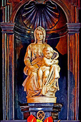 The Madonna With Child By Michelangelo. Original by Andy Za
