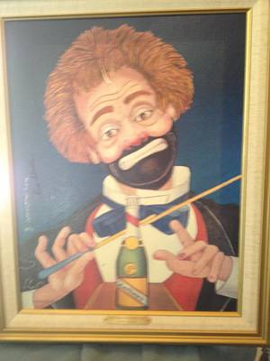 Red Skelton Painting - Conducting Beethovens 5th by Red Skelton