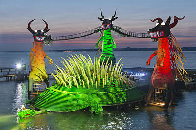 Bregenz Photograph - The Magic Flute by Holger Spiering