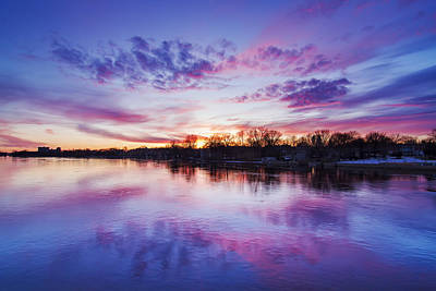 Laval Photograph - The Magic Hour by Mircea Costina Photography