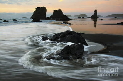 Photograph - The Magic Of Light Bandon Oregon 1 by Bob Christopher