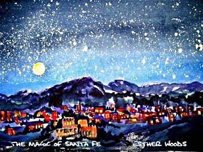 The Magic Of Santa Fe Art Print