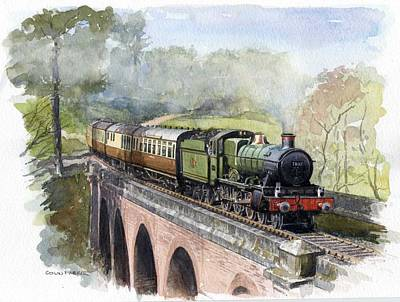 Painting - The Magic Of Steam by Colin Parker
