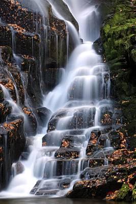 The Magic Of Waterfalls Art Print