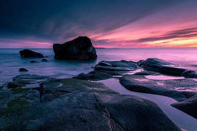 Thomas Berger Photograph - The Magic Sea by Thomas Berger