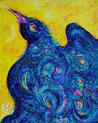 The Magical Bird Art Print by Ion vincent DAnu