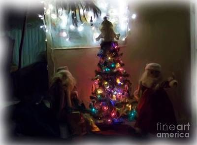 Art Print featuring the photograph The Magical Tree by Kelly Awad