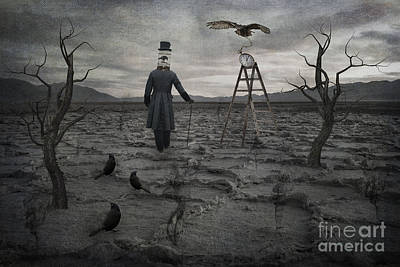 Black Birds Photograph - The Magician by Juli Scalzi