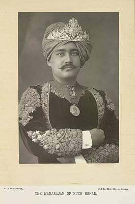 The Maharajah Of Kuch Behar Print by British Library