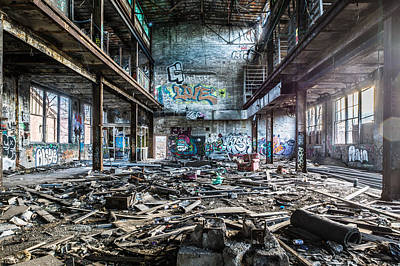 Abandonded Photograph - The Maid Is On Holiday by Randy Scherkenbach