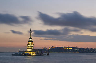 The Maiden's Tower  Art Print by Ayhan Altun