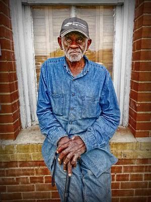 Old Man Digital Art - The Mailman by Linda Unger