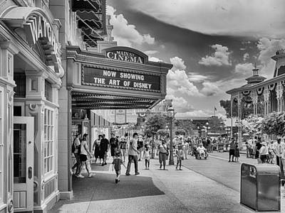 Photograph - The Main Street Cinema by Howard Salmon