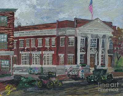 Painting - The Maine Branch  Newburyport by Francois Lamothe